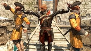 Repeat youtube video Assassin's Creed Black Flag Pirate King Combat & Free Roam Ultra GTX 980