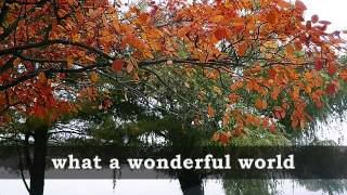 Video WHAT A WONDERFUL WORLD - Louis Armstrong (Lyrics) download MP3, 3GP, MP4, WEBM, AVI, FLV Juni 2018