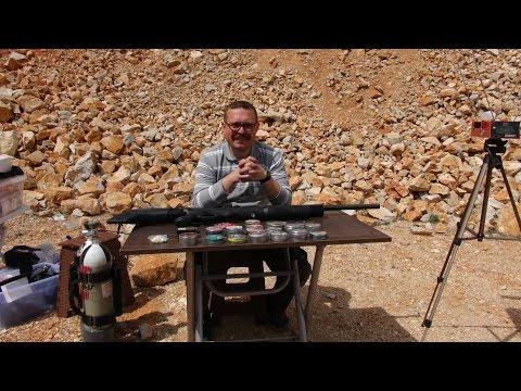 Hatsan Hercules  .25  (6.35 mm)  Caliber PCP Air Rifle ( English Subtitle )