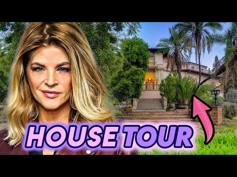 Kirstie Alley | House Tour 2020 | Los Angeles Mansion & Maine Cottage