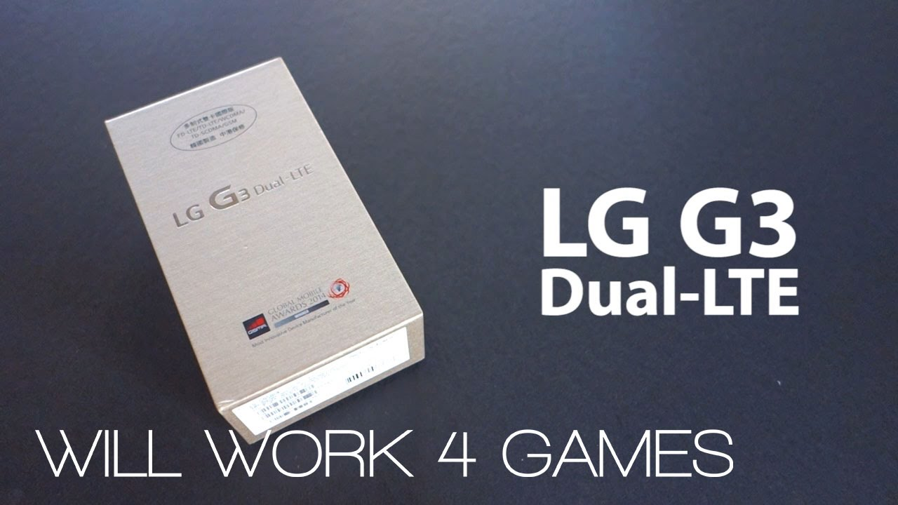 Lg g3 32gb gold dual sim D858 greek unboxing - YouTube