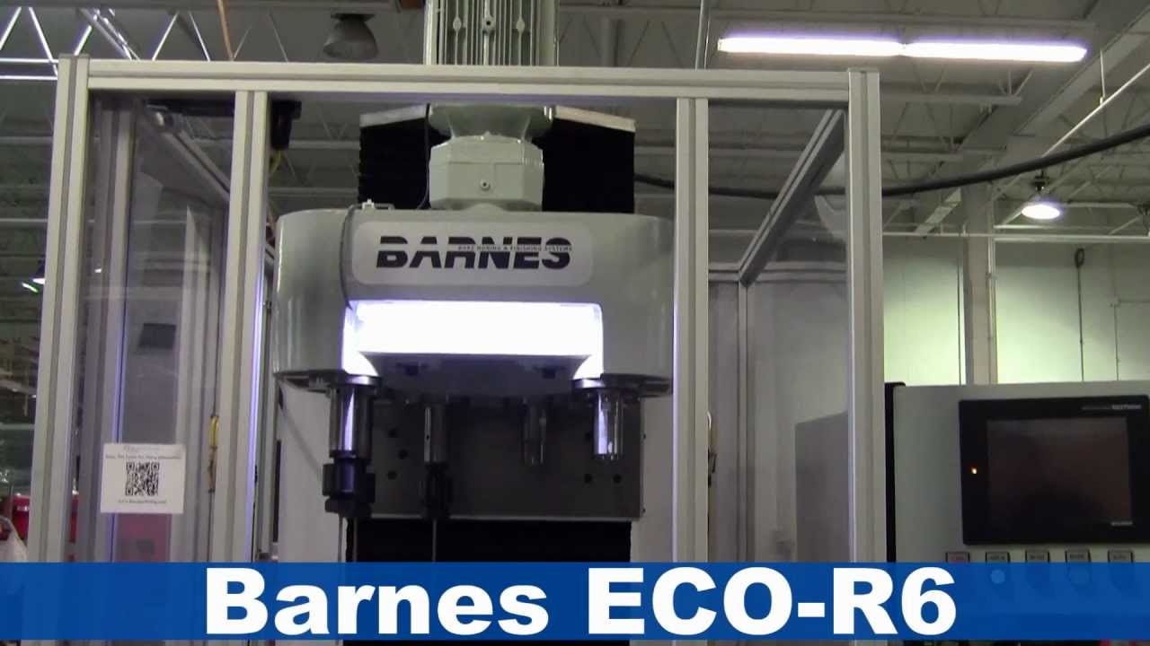 Barnes Eco R6 Bore Finishing System Processing Z Bearings