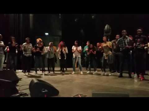Répétition E.Gospel Choir