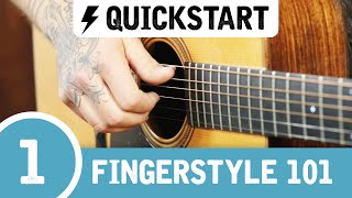 Video The BEST Beginner Fingerstyle Guitar Lesson download MP3, 3GP, MP4, WEBM, AVI, FLV Agustus 2018