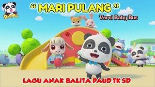Mari Pulang ♫ Lagu anak terpopuler ❤ Kartun BabyBus ❤ Kumpulan lagu anak balita, paud, tk, sd