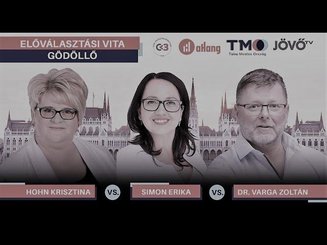Előválasztási vita összefoglaló - Gödöllő - Pest 6. sz OEVK | Jövő TV