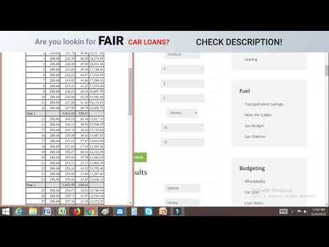 Car Loan Calculator - USA