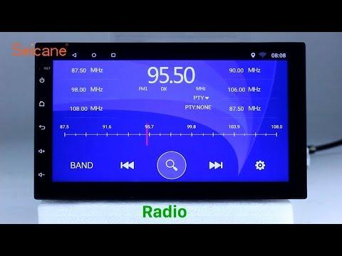 Aftermarket Radio 2000-2011 Universal Hyundai Kia Nissan GPS Navigation USB Stereo Upgrade