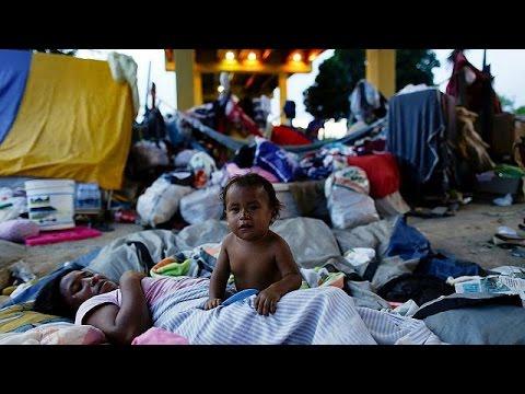 Indigenous Warao flee Venezuela in search of new life in Brazil