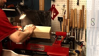 Turning a Wood Mallet Using Carbide Tools