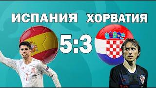 Испания 5 3 Хорватия ЕВРО 2020 21 Краткий обзор комментарий Футбол Мега Матч