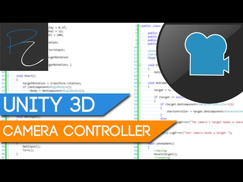 Unity3D Camera Controllers - RTS Part 1