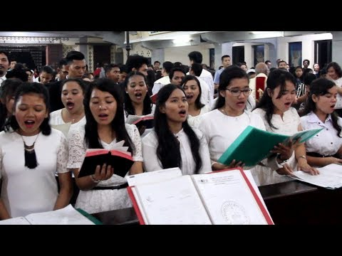 Anak Domba Allah - Lagu Misa Katolik (Dengan Lirik)