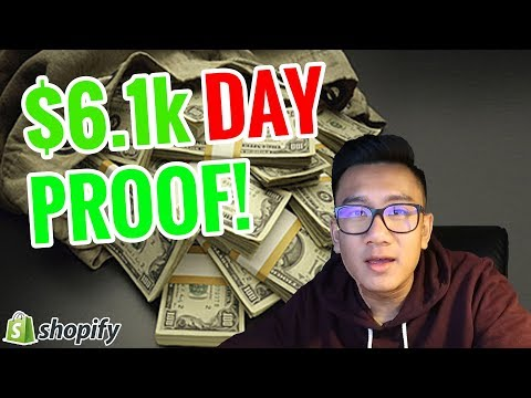 ? $6106.02 In ONE DAY Proof ? - Shopify Dropshipping thumbnail