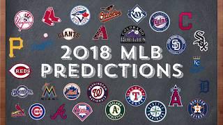 2018 MLB Season Predictions/Analysis