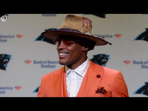Cam Newton does his best impression of Norv Turner