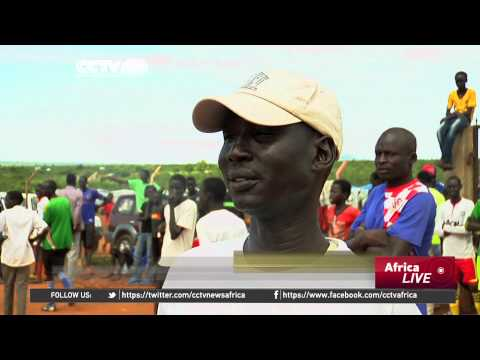 Sport for Peace: Displaced Youths In S Sudan play for peace