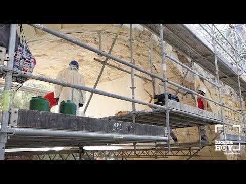 VÍDEO: Avanzan a buen ritmo los trabajos de restauración del puente Povedano de Lucena