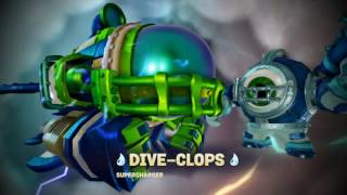Putting on all the Superchargers and their Vehicles in Skylanders Superchargers