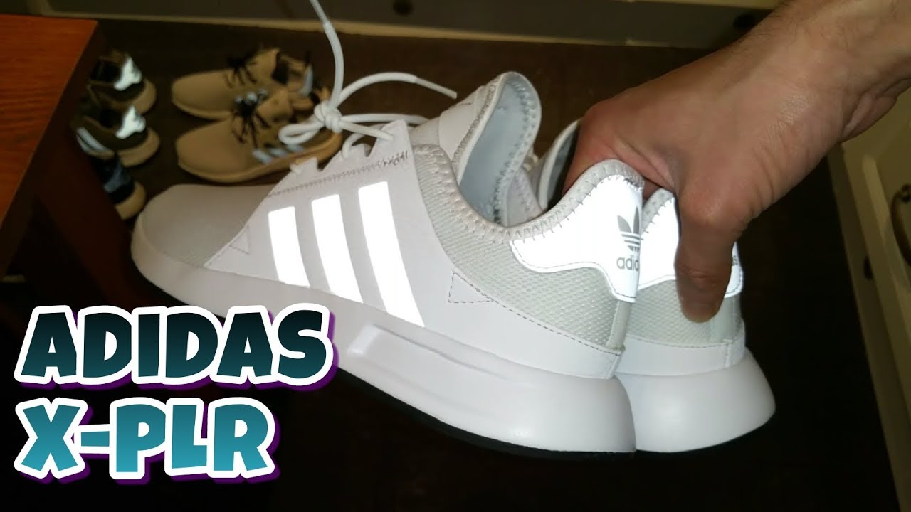 buy online 7a932 12914 Adidas X-PLR White Unboxing And Review
