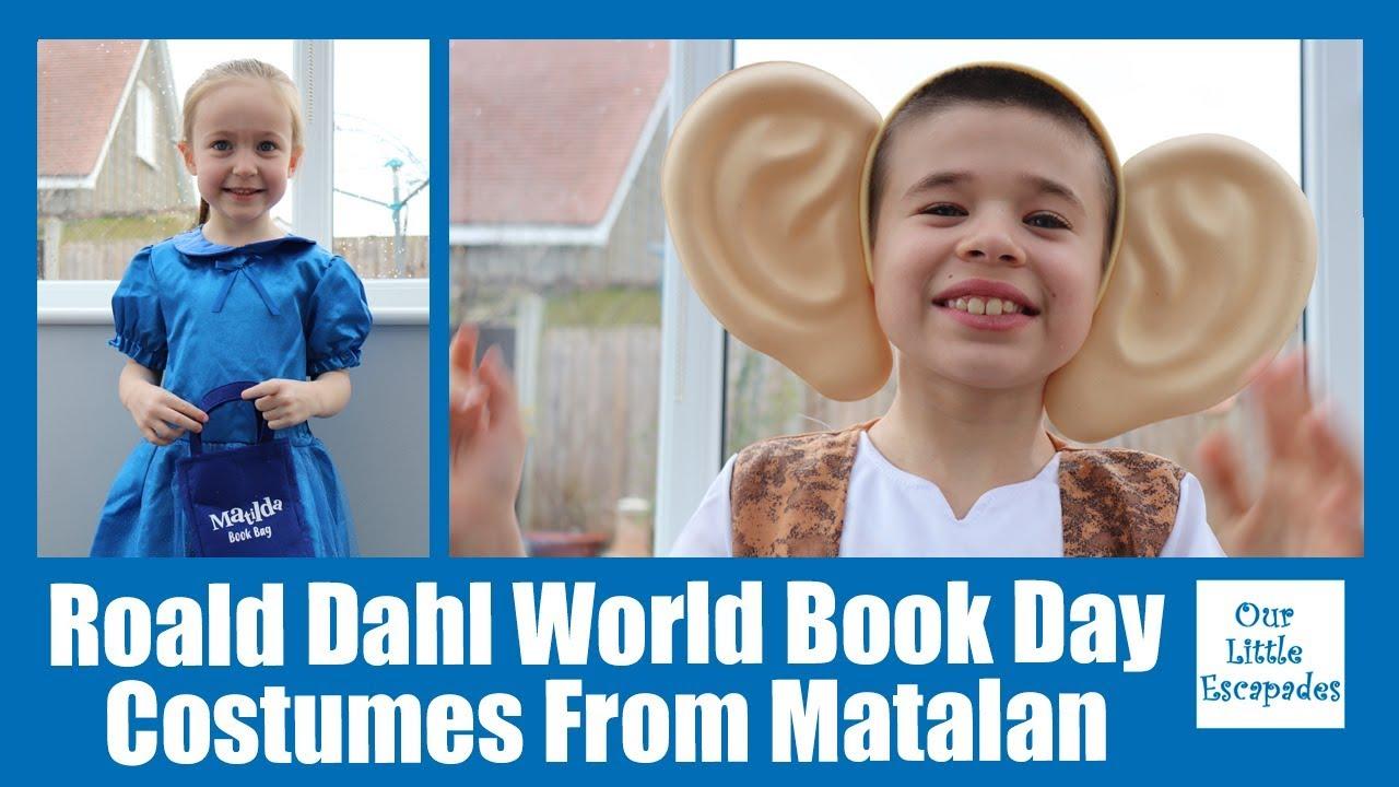 abeb20281 Roald Dahl World Book Day Costumes From Matalan - Matilda & The BFG ...