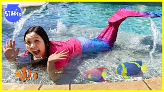 Ryan's Mommy Spends 24 Hours as a MERMAID!!