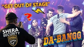 CRAZY FAN Running on Stage for SALMAN KHAN!!!