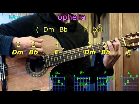 ophelia the lumineers guitar chords
