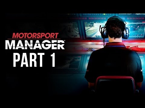 Motorsport Manager Gameplay Walkthrough Part 1 - FIRST RACE (Career Mode)