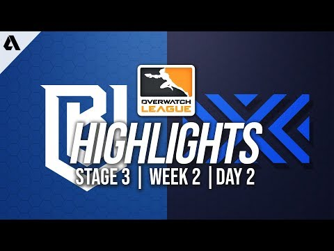 Boston Uprising vs New York Excelsior | Overwatch League Highlights OWL Stage 3 Week 2 Day 2