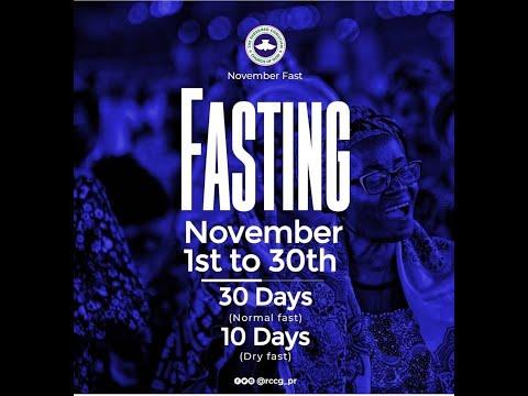 DAY 3 - RCCG NOVEMBER 2019 FASTING & PRAYER
