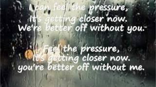 Pressure Lyrics by Paramore
