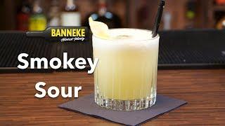 Smokey Sour - Rye Whiskey Cocktail Mixen - Schüttelschule By Banneke