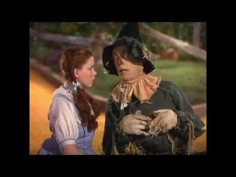The Wizard of Oz - Dorothy meets the Scarecrow - sync w/Pink Floyd's 'Brain Damage' and 'Eclipse'