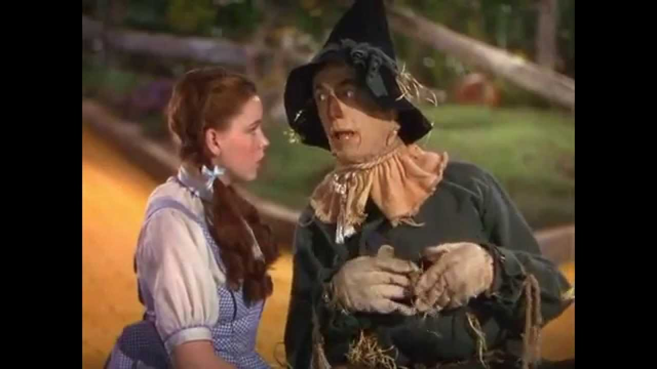 The Wizard Of Oz Dorothy Meets The Scarecrow Sync Wpink Floyds