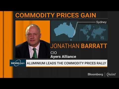 Jonathan Barratt: Not Possible To Predict Where Aluminium Prices Will Go