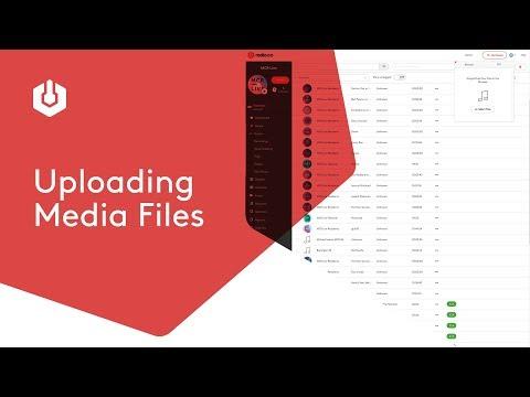 #2. Radio.co Studio: Uploading Media Files
