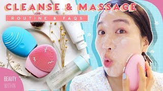 Cleansing, Facial Massage & Lymphatic Drainage 💎Foreo Luna 3 Review -  Beauty Within