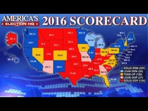 Fox News debuts electoral map