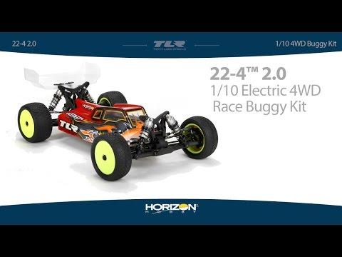 Team Losi Racing 1/10 22-4 2.0 4WD Buggy Race Kit