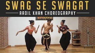 Swag Se Swagat Song | Tiger Zinda Hai | Aadil Khan Choreography | Salman Khan | katrina kaif