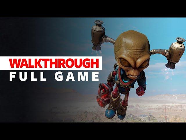 Destroy All Humans Remake Walkthrough Part 1 - Full Game - Destroy All Humans Walkthrough