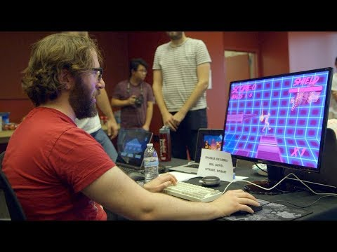 Stanford students design and create playable video games