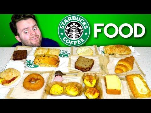 I bought the whole starbucks FOOD menu... - Starbucks Fast Food Taste Test