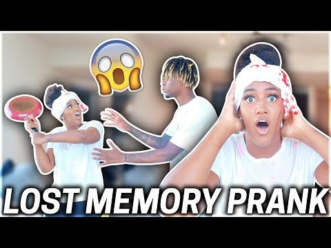 I LOST MY MEMORY PRANK ON BOYFRIEND!!!😱**HILARIOUS**