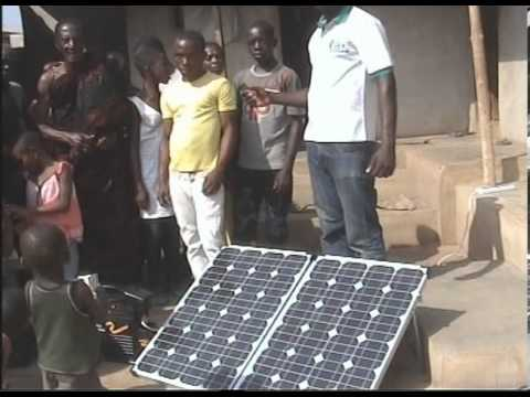 Solar2Africa400- Powerful but portable solar generator for Africa