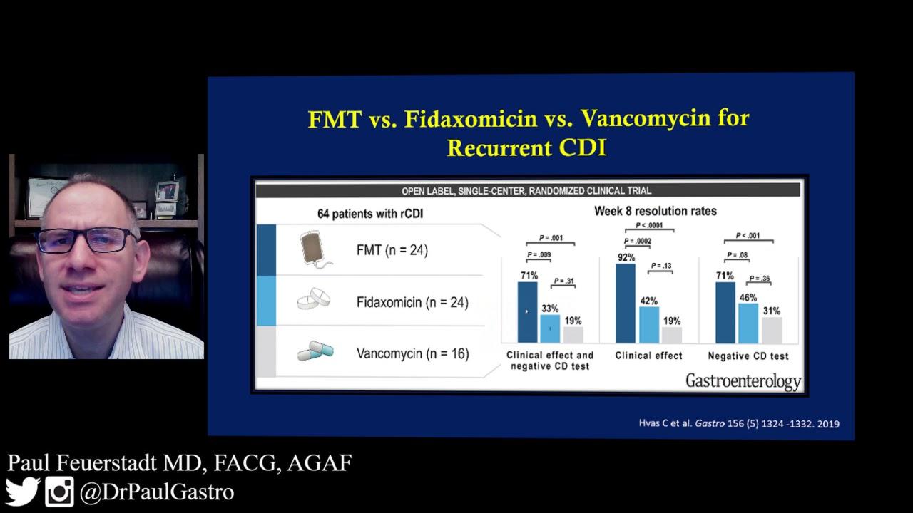 FMT v Fidaxomicin v Vancomycin (Patient)