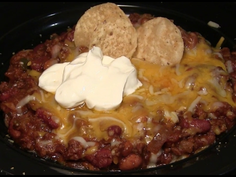 Easy Delicious Chili & Beans Recipe: How To Make Homemade Chili & Beans