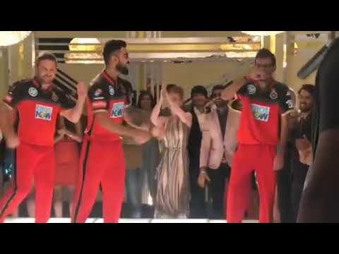 Virat Kohli, Brendon McCullum, Yuzvendra Chahal Dance for ad shoot RoyalChallengersBangalore2018 thumbnail
