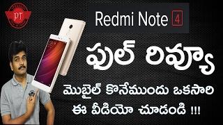 Xiaomi redmi note4 full review ll in telugu ll by prasad ll